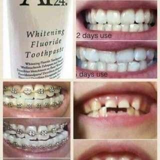 AP24 whitening flouride tootpaste