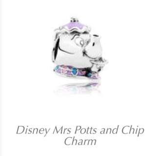 Pandora Disney 澳洲外購 茶煲太太 美女與野獸 beauty and he beast 有單有盒 全新