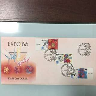 Expo 86 First Day Cover