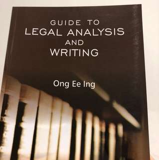 E-book Guide to Legal Analysis and Writing