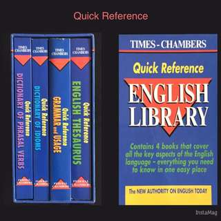 Quick Reference English Library