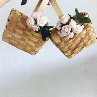 Flower Baskets for Flower Girls