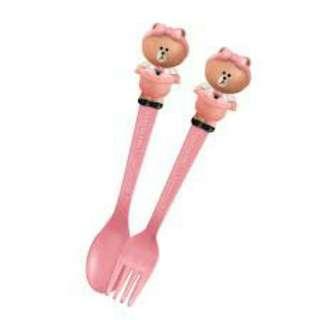 7.11 Line Friends cutlery