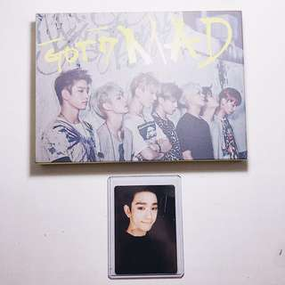 GOT7 Mad + Jinyoung PC