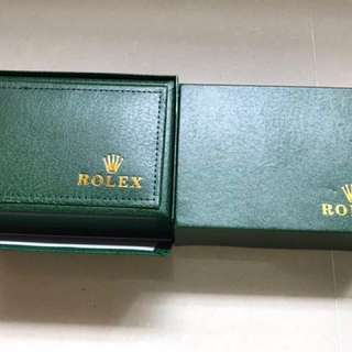 Rolex leather box