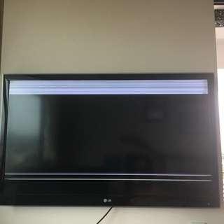 "47"" LG 3D LED Smart TV - needs repair"