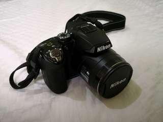 Nikon Coolpix P500 with Case Logic bag