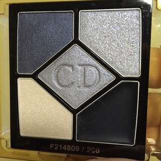 Dior 5 Colours eyeshadow navy design 208
