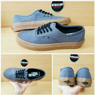 VANS AUTHENTIC-RUBBER GUM GREY