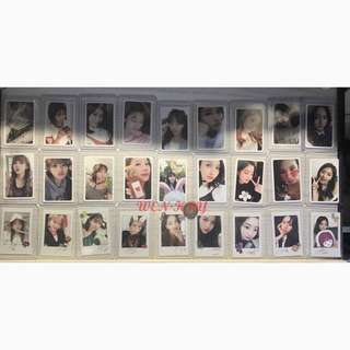 twice twicetagram likey photocards
