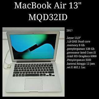 KREDIT Macbook Air MQD312 Tanpa CC