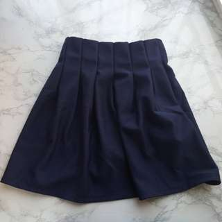 Navy Dress Dark blue skirt