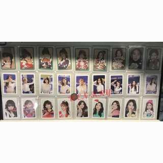 twice merry and happy photocards