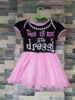 Dress tutu pink
