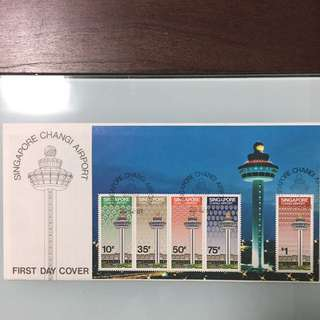 Singapore Changi Airport First Day Cover