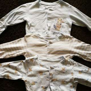 Mothercare Rompers, 9-12m