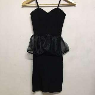 🚚 黑色小禮服 洋裝