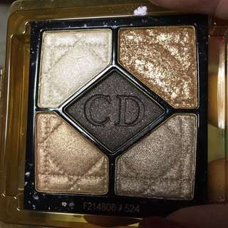 Dior Eyeshadow 524 night golds
