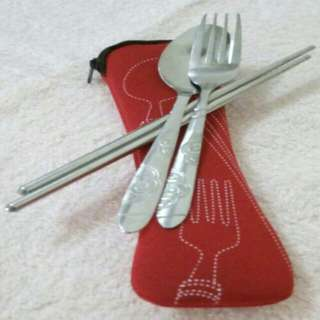 Spoon & Fork, Chopsticks with case