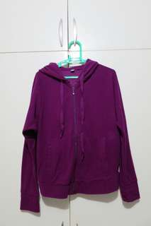 Uniqlo Violet Fleece Jacket