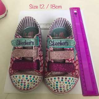 Sketchers Girls Shoes