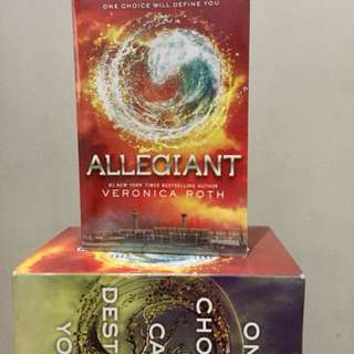 Allegiant by Veronica Roth (Divergent Series)