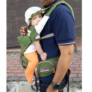 Baby soft carrier bebear 3 in 1 hip seat