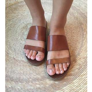 Windsor Smith Tan Sandals