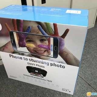 (全新)HP envy photo 7820 All-in-one printer
