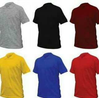 Tshirt Jenis Polo - Kain Lacos