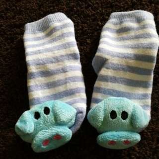 Cute Elephant Baby Socks