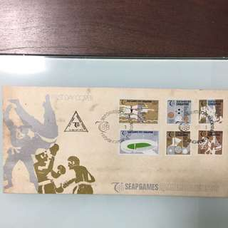 SEAP Games 1973 Singapore First Day Cover
