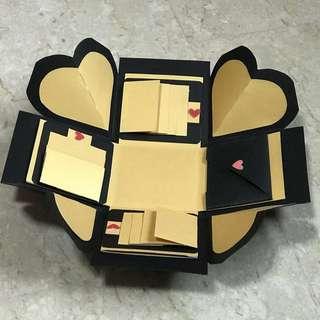 Basic & Plain Exploding / Explosion Box (No Deco)