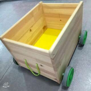 (PL) Ikea FLISAT Toy storage Trolley with wheels