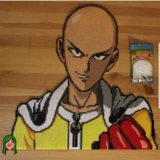 Hama beads design anime one punch man
