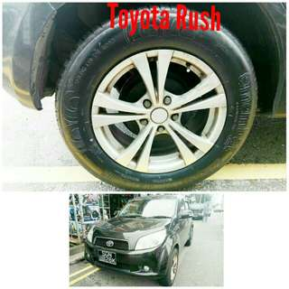 Tyre 215/65 R16 Membat on Toyota Rush 🐓 Super Offer 🙋