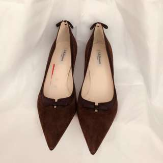 (New)🇬🇧 L.K. Bennett dark brown shoes👠