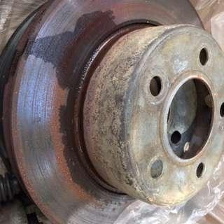 Brake disc Jeep Wrangler 2.5