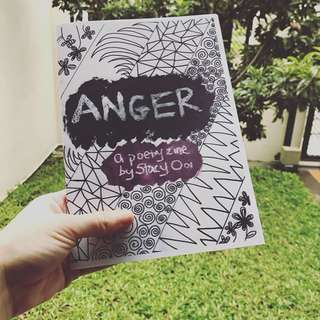 Anger, a poetry zine