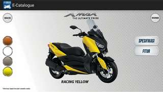 YAMAHA XMAX READY STOCK