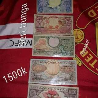 Uang kuno sepaket