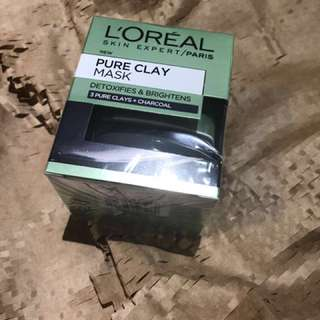 L'Oréal Charcoal Clay Mask