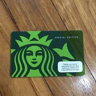 Classic Starbucks Card