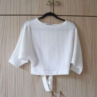 Zara - White Blouse