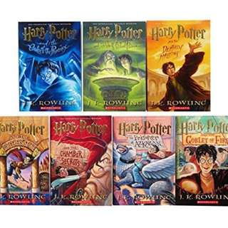 Harry Porter Complete Hard-Cover Set