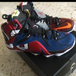 "Nike Lebron XII SE ""What The"", US 10.5"