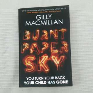Burnt Paper Sky by Gill MacMillan