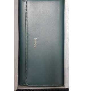 Brand New Max Mara Wallet SS17 - Green