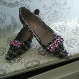 法國品牌典雅淑女鞋35號