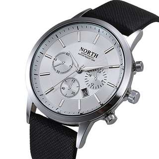 NORTH Jam Tangan Analog - 6009 - White